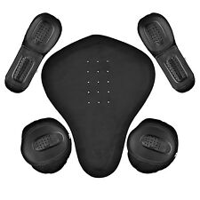 5 PC Removable Hard Armor For Motorcycle Biker Jackets New PR1