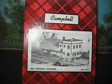 CAMPBELL SCALE MODELS #447 HO-FREIGHT STATION