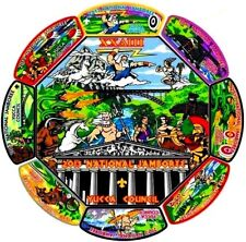 YUCCA COUNCIL OA 378 GILA TX 2013 BOY SCOUT JAMBOREE 9-PATCH GREEK MYTHOLOGY SET