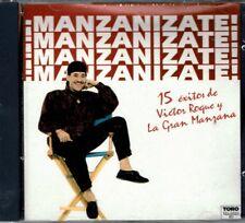 Manzanizate  15 Exitos de Victor Roque y La Gran Manzana    BRAND  NEW SEALED CD