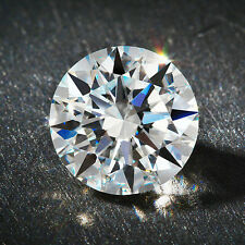6.00ct Round Cut Simulated Loose Diamond VVS1-D 10.75mm Single Loose Diamond