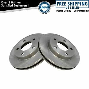 Front Brake Rotor Pair LH & RH For Buick Cadillac Chevy Pontiac