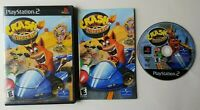 Crash Nitro Kart Bandicoot  PlayStation 2 PS2 Complete Game CIB Tested Works