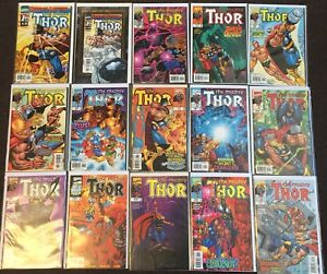 Mighty Thor (2nd Series) # 1 2 3 4 6-35 38 39 41 43 44 47 50 53 56-62 66 67 LOT