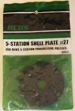 RCBS 5 Station Shell Plate #27-(88827) NEW-in package