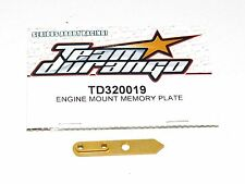 Nuevo Team Durango Soporte Motor Memoria Plato DNX408 TD320019 1:8 Nitro Rc