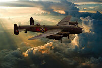 BBMF Avro Lancaster canvas prints various sizes free delivery