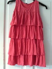 PINK  TIERED TOP, AGED 11