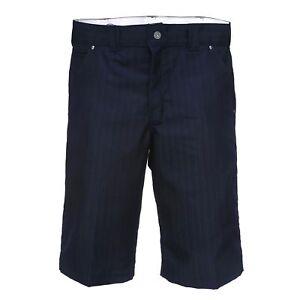 Dickies Herren Shorts 13 Inch Shadow STP SHT WR878BK Black BK schwarz gestreift