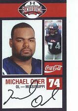 MICHAEL OHER SENIOR BOWL ROOKIE