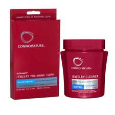 Connoisseurs Silver Jewellery cleaning dip and Silver jewellery polishing cloth