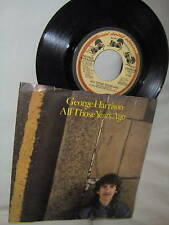 GEORGE HARRISON-ALL THOSE YEARS AGO/WRITING'S ON 45+PS