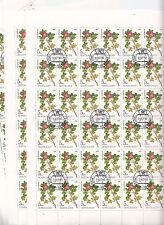 CCCP URSS 26 feuilles  Flore Plantes médicinales  5 k 1985