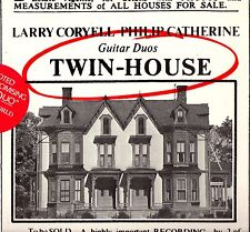 "LARRY CORYELL/ PHILIP CATHERINE ""TWIN-HOUSE"" LP 1977 elektra"