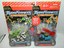 TRANSFORMERS ENERGON DIVE BOMB & SIGNAL FLARE BLACK CARD DELUXE CLASS 2 PACK