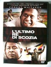 Dvd L'ultimo re di Scozia con Forest Whitaker e James McAvoy 2006 Usato