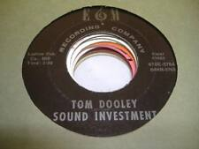 HEAR! Garage/Country 45 SOUND INVESTMENT Tom Dooley on E&M