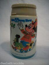 Vintage 1976 Walt Disney World train Mickey Mouse Aladdin lunch box THERMOS