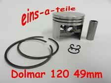 PISTONE adatto per DOLMAR 120 49mm Nuovo Qualità TOP