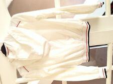 Ragazzi Età 8 D&G Junior bianco Hoode Giacca BUONE CONDIZIONI stato indossato 100% AUTENTICO
