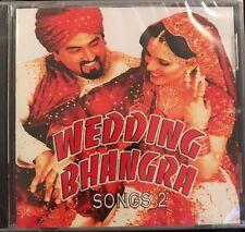 Wedding Bhangra Songs 2 - Punjabi - UK. NEW. STILL SEALED. Hi-tech.