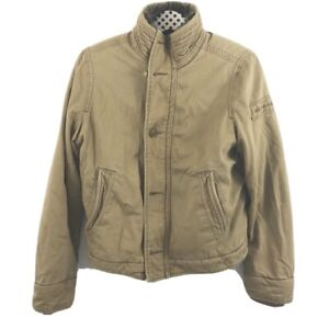 Abercrombie and Fitch Youth Heavy Lined Jacket Sz XL Adirondack