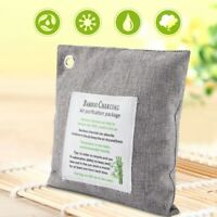 Bamboo Charcoal Air Purifying Bag Odor Activated Purifier Car Closet Deodorizer