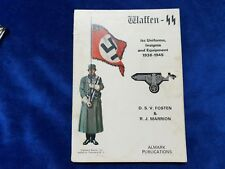 WW2 BOOK WAFFEN REFERENCE BY D S V FOSTEN & R J MARRION