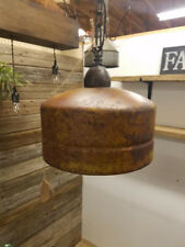 Rustic Farmhouse Lighting / Industrial Pendant Ceiling Light Custom Made