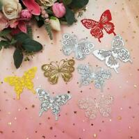 Butterfly Metal Cutting Dies Embossing Molds Scrapbook Decoration Crafts Al E1N9