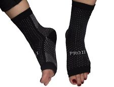 foot compression socks 1 pair heel and arch pain relief