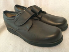 Men's PW MINOR Brown Velcro Leather Orthopedic Shoes Sz 12 AAA (Narrow)