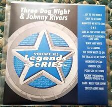LEGENDS KARAOKE CDG THREE DOG NIGHT & JOHNNY RIVERS #185 OLDIES 16 SONGS