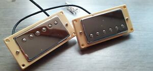 Roswell Pickups set - LAF Alnico V Humbuckers - with surrounds