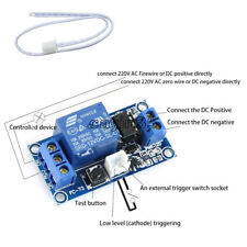 12V 1 Channel Latching Relay Module with Touch Bistable Switch MCU Control UK