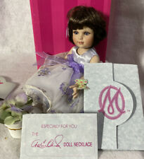 """Marie Osmond Tiny Tots Doll ~ 5.5"""" CATERPILLAR TO BUTTERFLY ~ Mint in Box W/COA"""