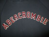 Abercrombie Hoodie Pull Over Sweatshirt Blue Red Men's Size L Large