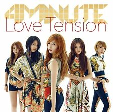 USED 4Minute - Love Tension (Type A) (CD+DVD) [Japan LTD CD] UMCF-9618 CD
