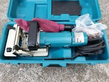 Makita 3901 Biscuit Jointer Cutter Rail Circular Saw 230v Corded Plate Joiner