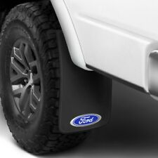 "(4) 11"" x 19"" Mud Flaps FORD LOGO (F-150 & F-250) Splash Guards Front & Rear Set"