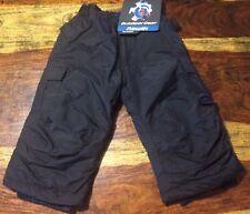 New Rawik Kids Board Dog Insulated Snow Ski Cargo Pants 3t Black XS