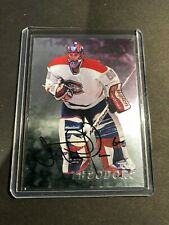 Jose Theodore 1998 In The Game Auto #219 Montreal Canadiens