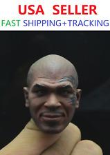 CUSTOM Mike Tyson 1/6 SCALE Head Sculpt w/ Tattoo for12'' male figure