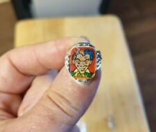 Vintage Batman Joker Vari Vue Flicker Ring 1960's