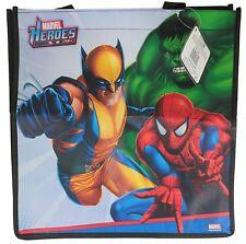 Children's Spiderman Wolverine, HULK tote shopper gift bag
