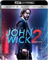 John Wick Chapter 2 4K Ultra HD + Blu-Ray 2 Disc Set - No Digital
