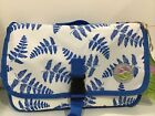 Kiducci Blue White Leaf Baby Diaper Changing Pad NEW  Free Shipping