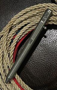 Brian Fellhoelter Original Kickstarter TiBolt Titanium Tactical Pen