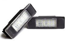 Für Citroën C2 C3 C4 C5 DS3 Jumpy LED Kennzeichen Beleuchtung Nummernschild Weiß