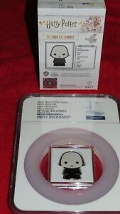 2021 Harry Potter Chibi - Lord Voldemort 1oz .999 Silver NGC PR70 Niue $2 Coin